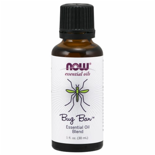 NOW Essential Oils Bug Ban Blend Perspective: front