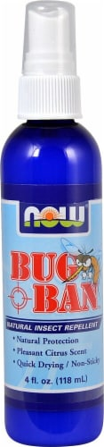 NOW Foods  Bug Ban™ Natural Insect Repellent Perspective: front