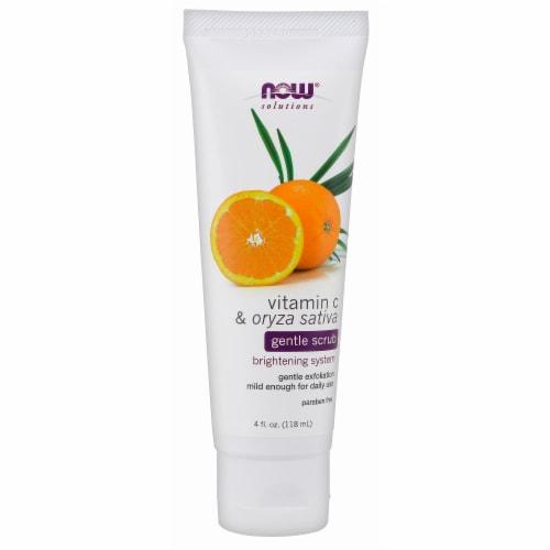 Now Vitamin C & Oryza Sativa Gentle Brightening Scrub Perspective: front