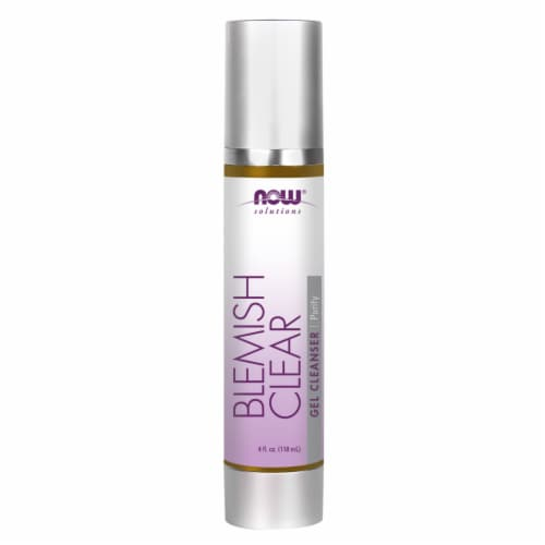 NOW Foods Blemish Clear Gel Cleanser Perspective: front