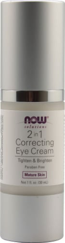 NOW Foods  Solutions 2 in 1 Correcting Eye Cream Perspective: front