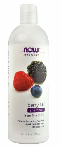 NOW Foods  Solutions Shampoo Berry Full™ Perspective: front