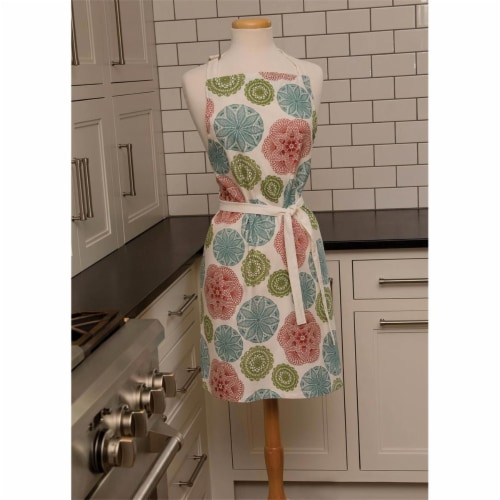 Heritage Lace CE-APR 26 x 34 in. Crochet Envy Apron, Ecru Perspective: front