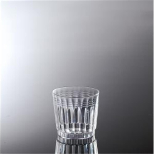 EMI Yoshi EMI-RET9 9 Oz. Extra Heavy Weight Clear Tumbler - Pack of 240 Perspective: front