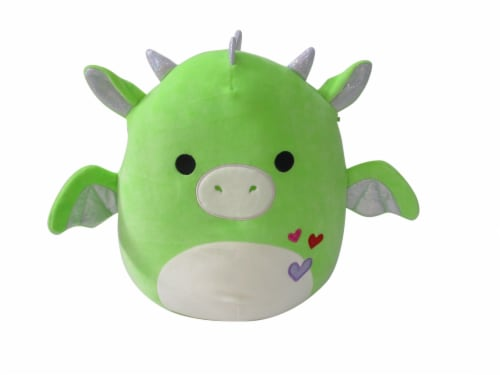 Squishmallows Dragon Plush - Green Perspective: front