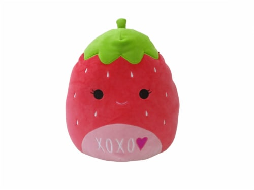 Squishmallows Strawberry Plush Perspective: front