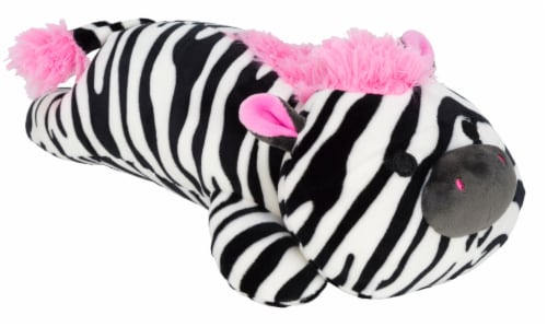 Squishmallows Laying Zebra Plush Toy Perspective: front