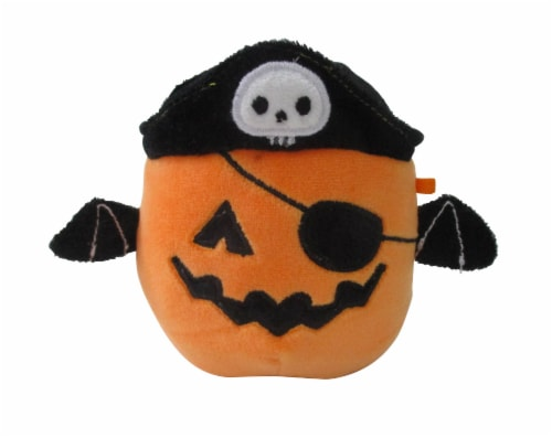 Squishmallows Pirate Pumpkin Plush Toy Perspective: front