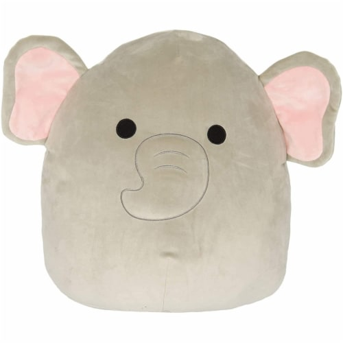 Original Squishmallows 8 Inch Elephant - Mila Perspective: front