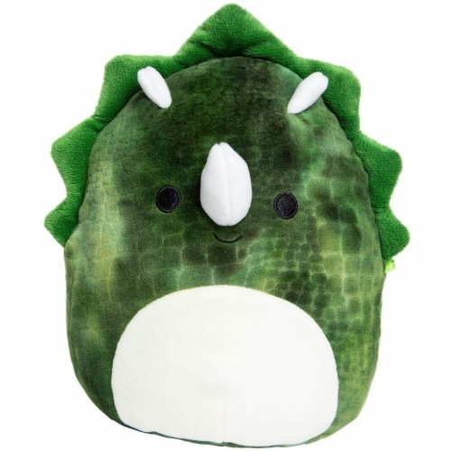 Original Squishmallows 8 Inch Triceratops - Trey Perspective: front