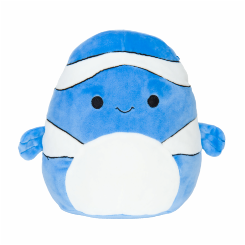 Original Squishmallows 12 Inch Blue Clownfish - Ricky Perspective: front