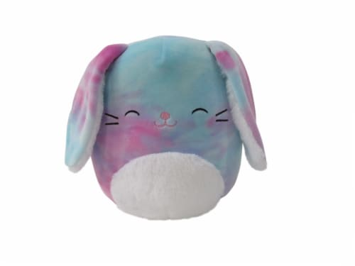 Squishmallows Bunny Plush - Tie Dye Perspective: front
