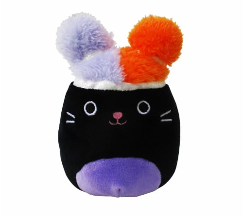 Squishmallows Squish-Doos Cat Plush Toy Perspective: front