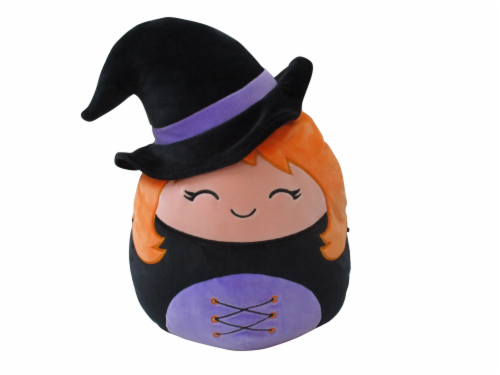 Squishmallows Halloween Witch Doll Perspective: front