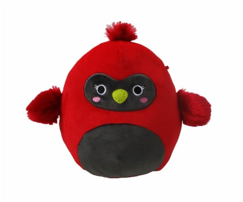 Squishmallows Cardinal Plush Perspective: front