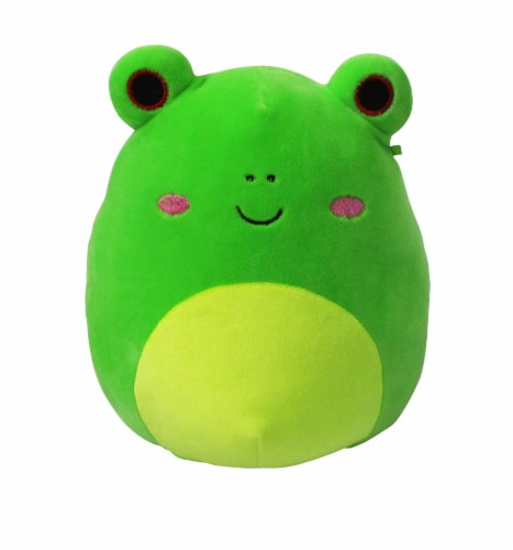 Squishmallows Frog Plush Perspective: front