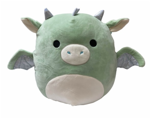 Squishmallows Dragon Plush - Mint Perspective: front