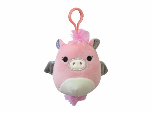 Squishmallows Pegacorn Plush - Pink Perspective: front