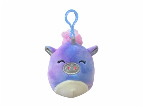 Squishmallows Tie Dyed Unicorn Plush Perspective: front