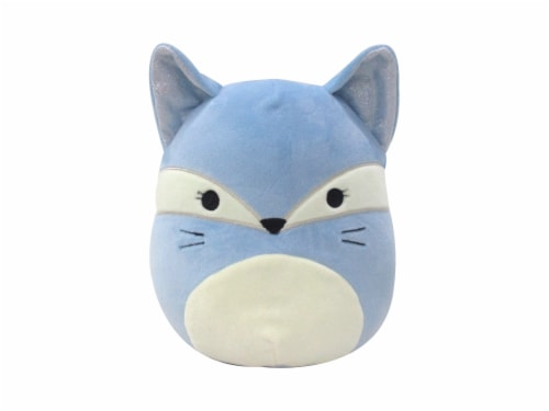 Squishmallows Fox Plush - Light Blue Perspective: front