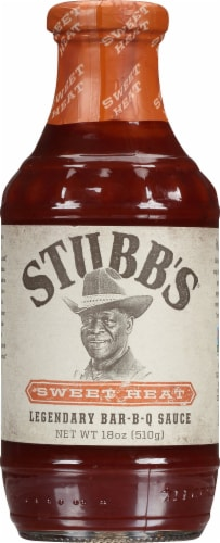 Stubb's Sweet Heat Bar-B-Q Sauce Perspective: front