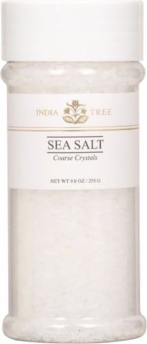 India Tree Coarse Sea Salt Perspective: front