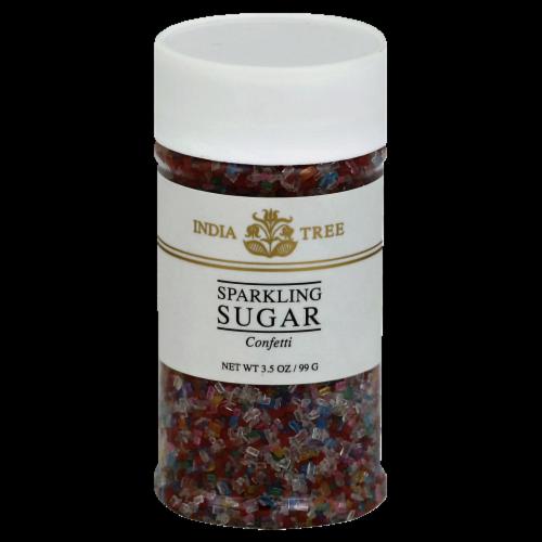 India Tree Confetti Sparkling Sugar Perspective: front
