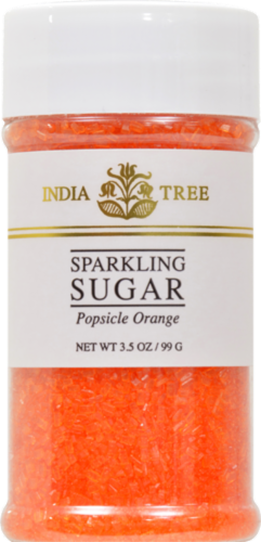 India Tree Popsicle Orange Sparkling Sugar Perspective: front