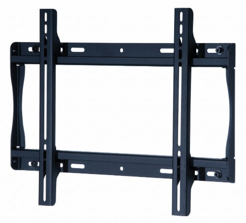 Peerless TV Mount,32 to 50 in Flat,Wall,Black HAWA SF640P Perspective: front