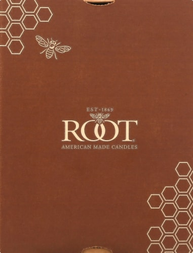 Root Candles Timberline Collenette Candle - Ivory Perspective: front