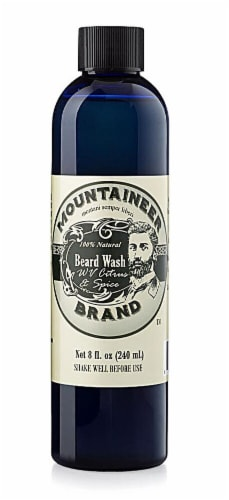 Mountaineer Brand  Beard Wash WV Citrus & Spice Perspective: front