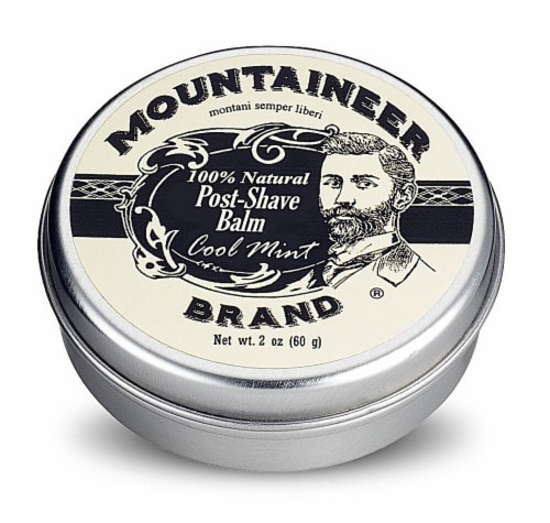 Mountaineer Brand  Post-Shave Balm Cool Mint Perspective: front