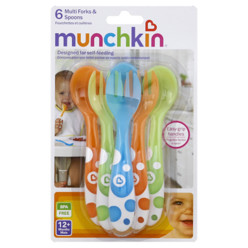 Munchkin Multi Forks & Spoons Perspective: front
