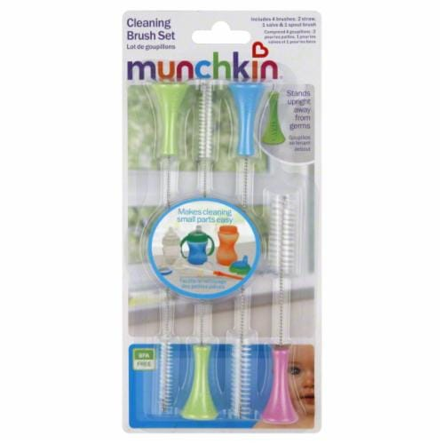 Munchkin Cleaning Brush Set Perspective: front