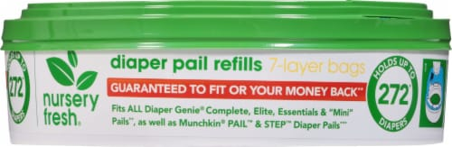 Nursery Fresh Diaper Pail Refills Perspective: front