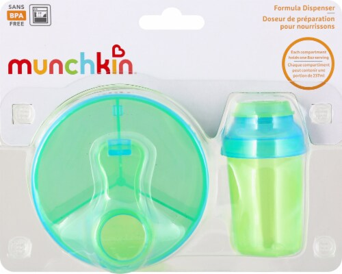 Munchkin Powdered Formula Dispenser Combo Pack Perspective: front