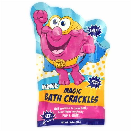 Mr. Bubble Magic Bath Crackles Perspective: front