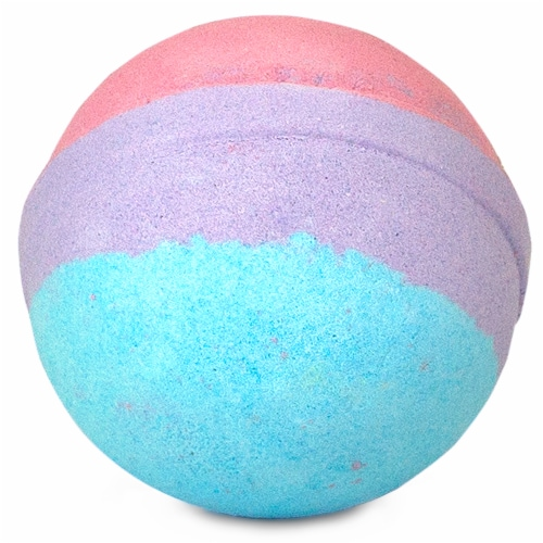 Hallu Escape Unicorn Bath Bomb Perspective: front