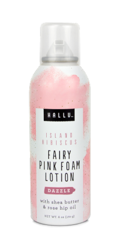Hallu Fairy Pink Foam Lotion Perspective: front
