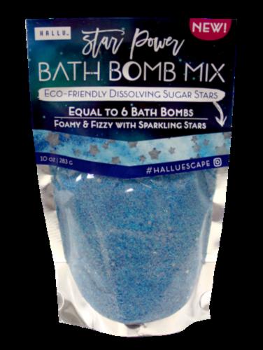 Hallu Star Power Cosmic Bath Bomb Mix Perspective: front
