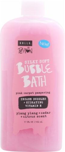 Hallu Peyton Glistening Golden Mica Bubble Bath Perspective: front