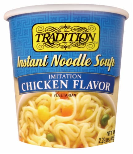 Tradition Instant Chicken Noodle Soup Perspective: front