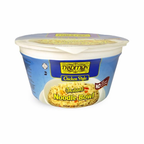 Tradition Chicken Instant Noodle Bowl Perspective: front