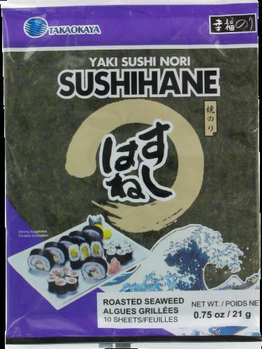 Takaokaya Happy Yaki Sushi Nori Sushihane Perspective: front