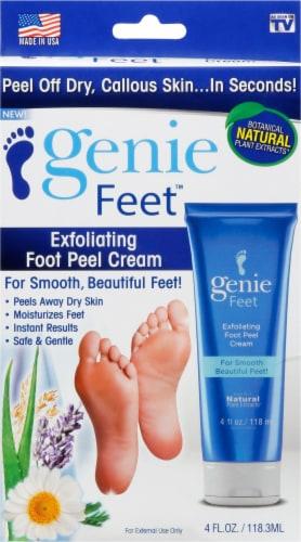 Genie Feet Food Peel Cream Perspective: front