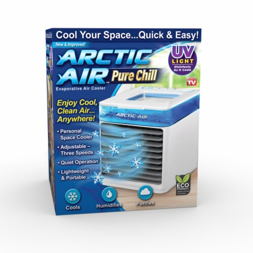 Arctic Air Pure Chill Personal Space Cooler Perspective: front
