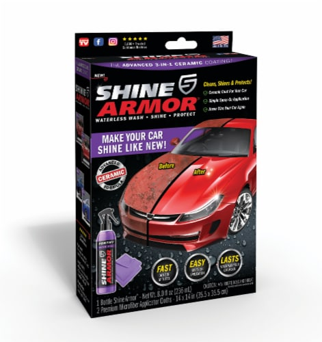 Shine Armor 3-in-1 Ceramic Car Coating Perspective: front