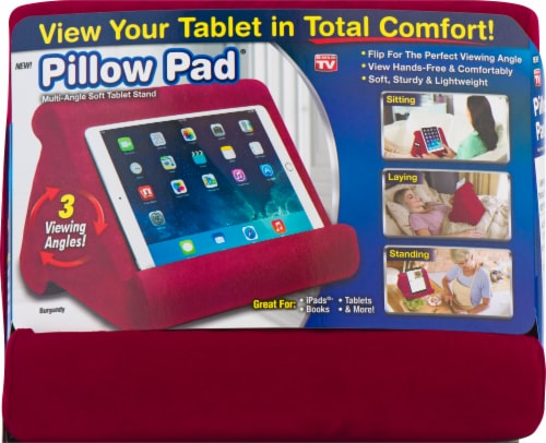 Pillow Pad Multi-Angle Soft Tablet Stand - Assorted Perspective: front
