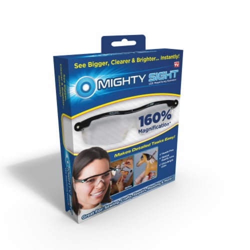 Mighty Sight LED Magnifying Eyewear Perspective: front