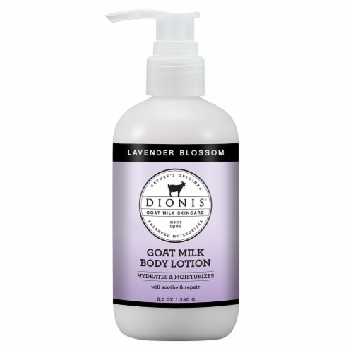 Dionis Lavender Blossom Goat Milk Body Lotion Perspective: front